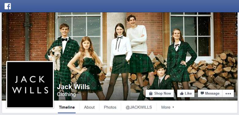 Jack Wills on Facebook