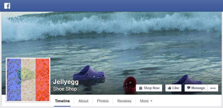 Jelly Egg on Facebook