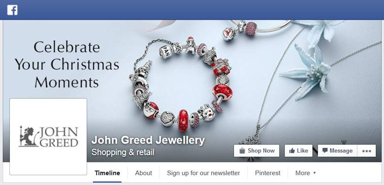 John Greed on Facebook