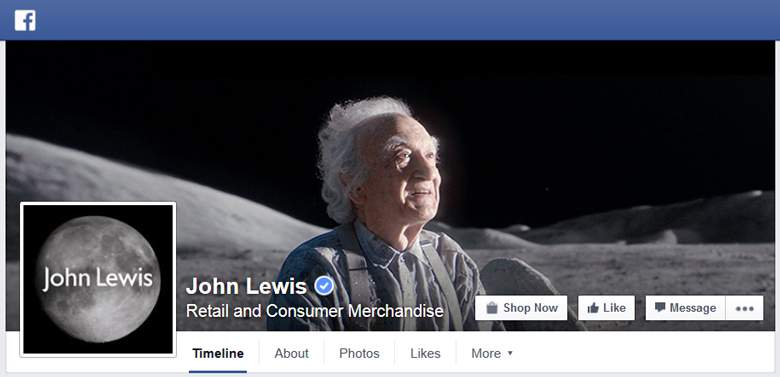 John Lewis on Facebook