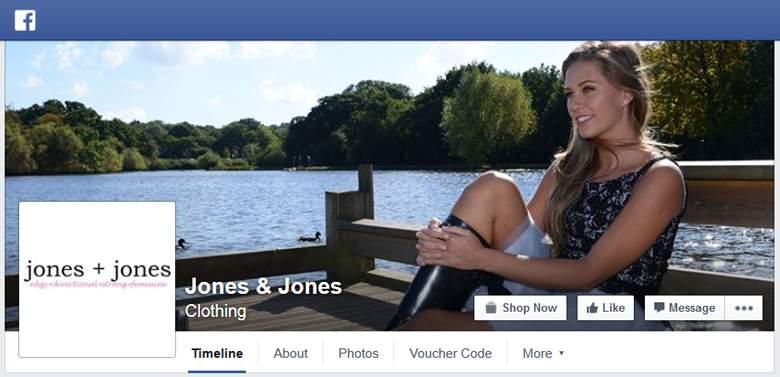 Jones and Jones on Facebook