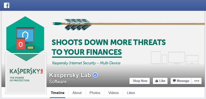 Kaspersky on Facebook