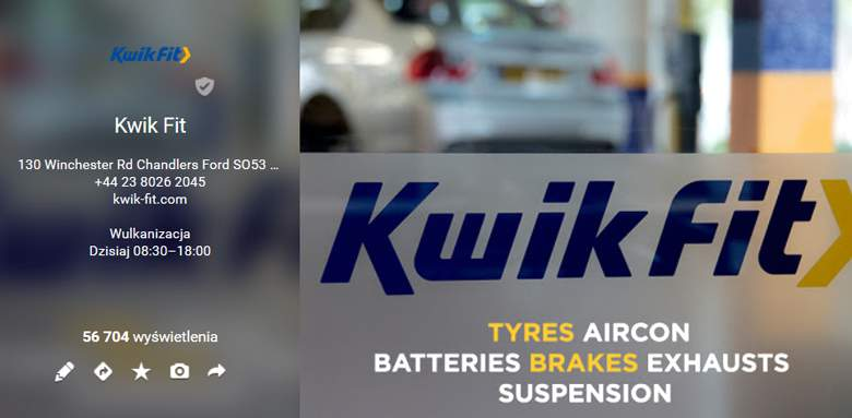 Kwik Fit on Google+