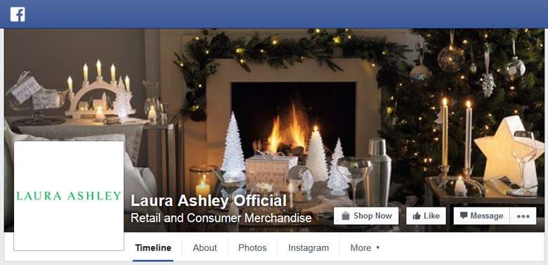 Laura Ashley on Facebook