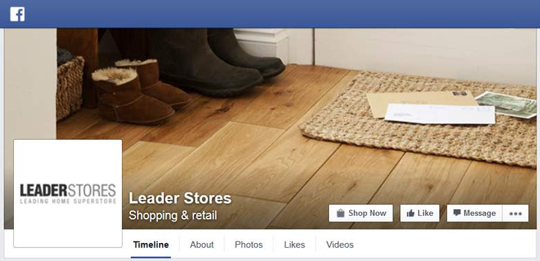 Leaderstores on Facebook