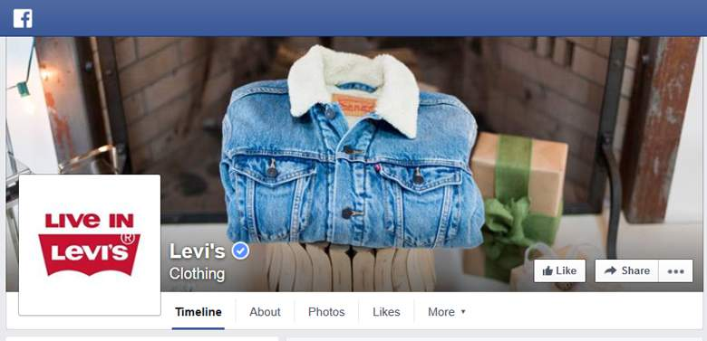 Levis on Facebook