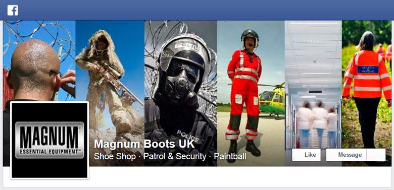 Magnum Boots on Facebook