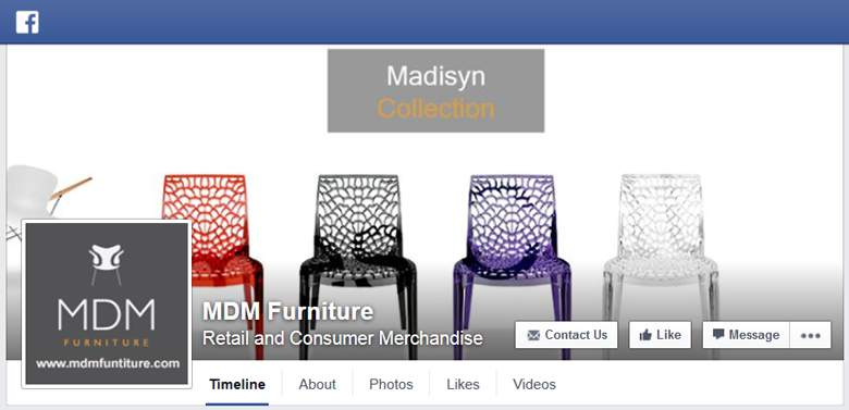 MDM Furniture on Facebook