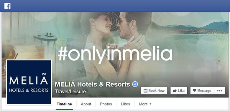 Melia on Facebook