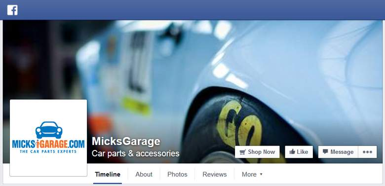 Micks Garage on Facebook