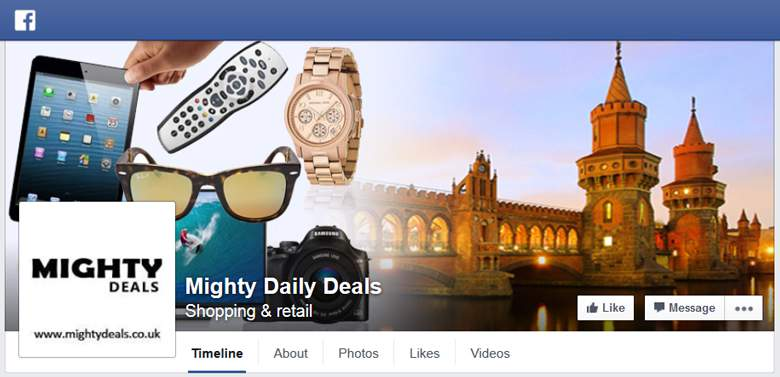 Mighty Deals on Facebook