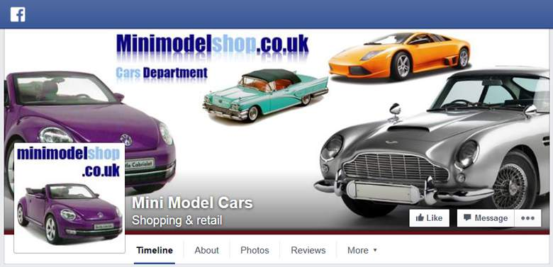 Mini Model Shop on Facebook