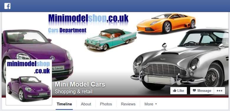 Mini Model Shop on Facebook