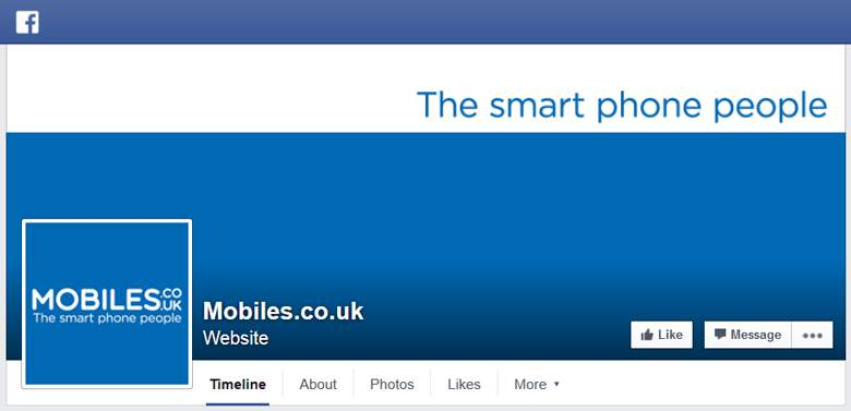 Mobiles.co.uk on Facebook