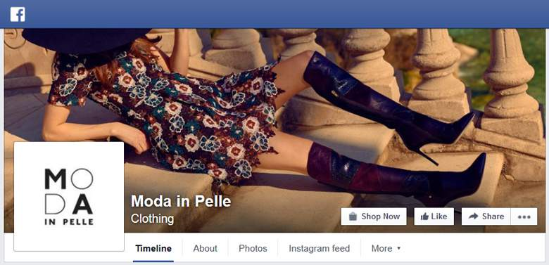 Moda in Pelle on Facebook