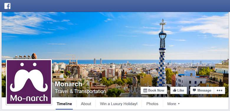Monarch on Facebook