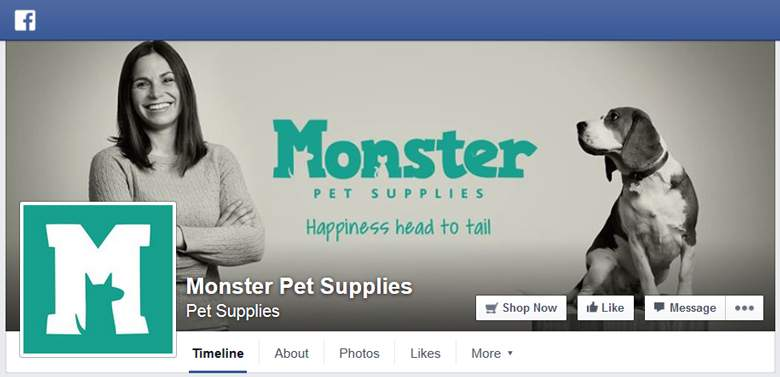 Monster Pet Supplies on Facebook