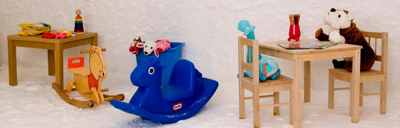 Furniture and toys by Mothercare