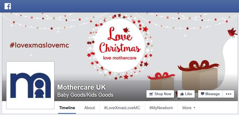 Mothercare on Facebook