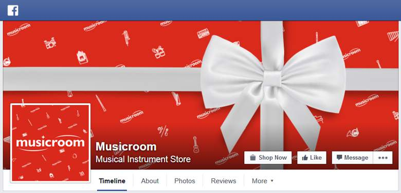 Musicroom on Facebook