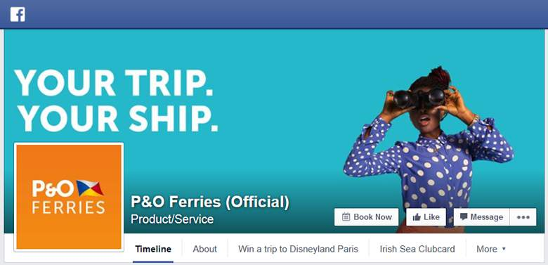 P&O Ferries on Facebook