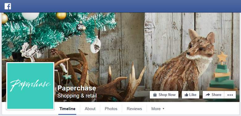 Paperchase on Facebook