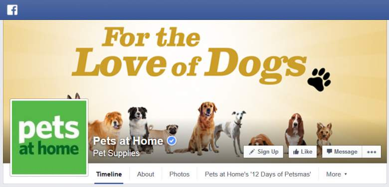 Pets at Home on Facebook