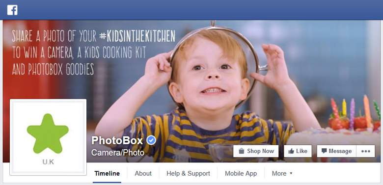 Photobox on Facebook
