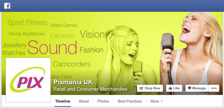 Pixmania on Facebook