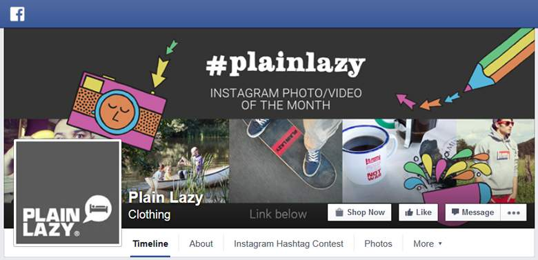 Plain Lazy on Facebook
