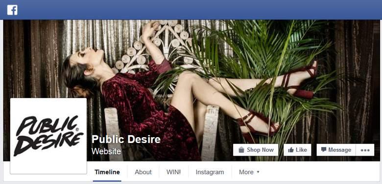 Public Desire on Facebook