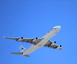 Flight with Qatar Airways