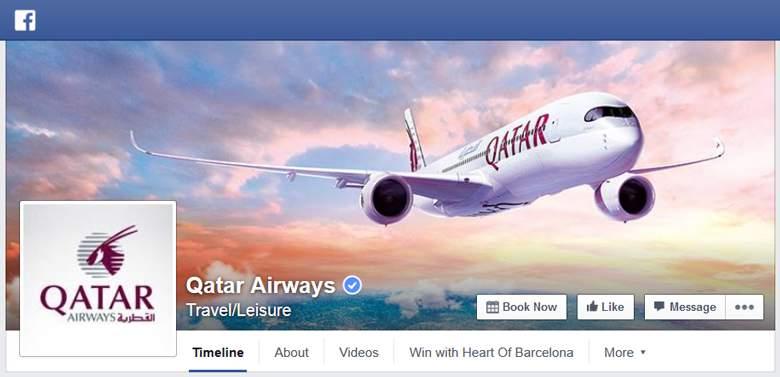 Qatar Airways on Facebook