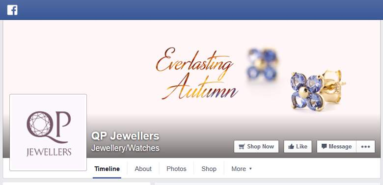 QP Jewellers on Facebook