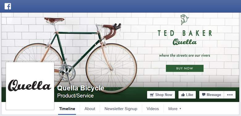 Quella Bicycle on Facebook