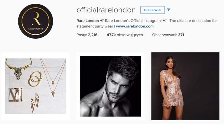 Rare London on Instagram