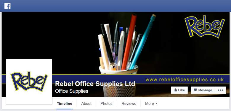 Rebel Office Supplies on Facebook