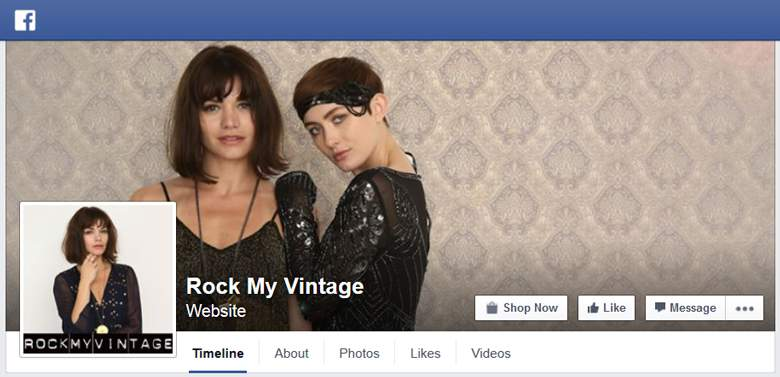 Rock My Vintage on Facebook