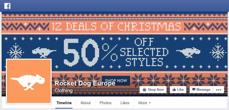 Rocket Dog on Facebook