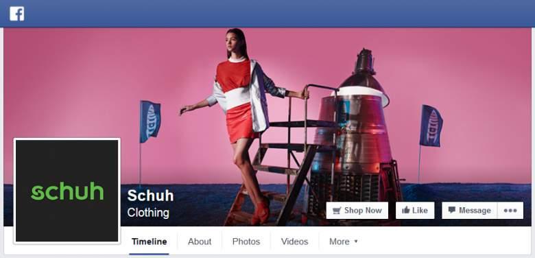 Schuh on Facebook