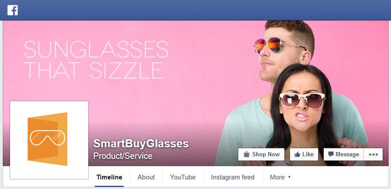 SmartBuyGlasses on Facebook