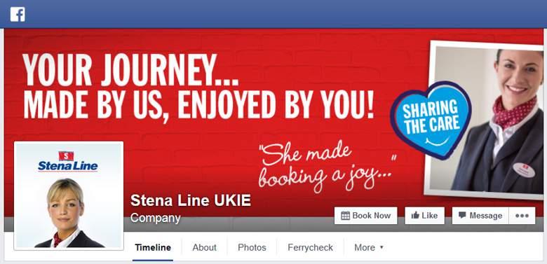 Stena Line on Facebook