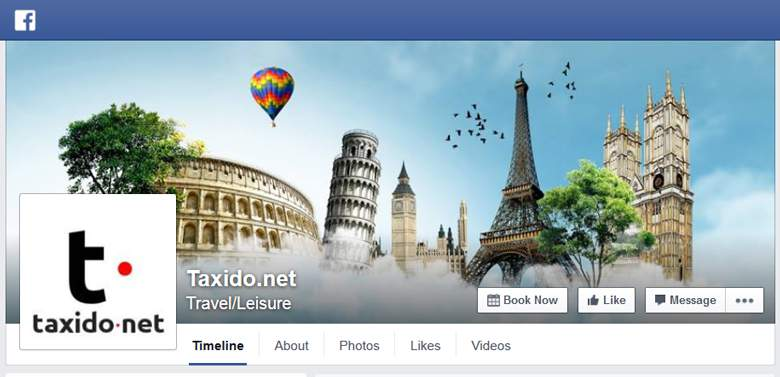 Taxido on Facebook