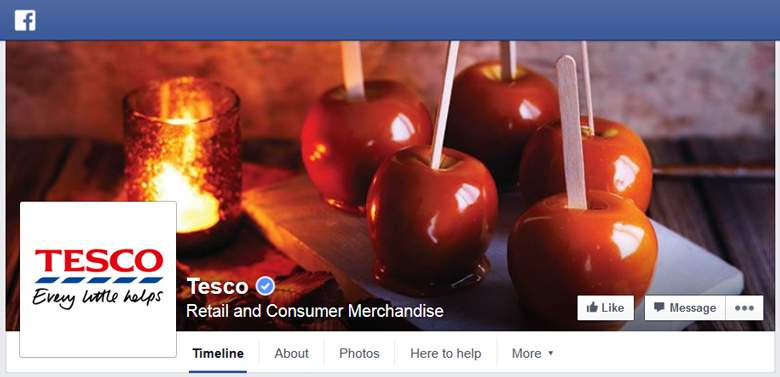 Tesco on Facebook