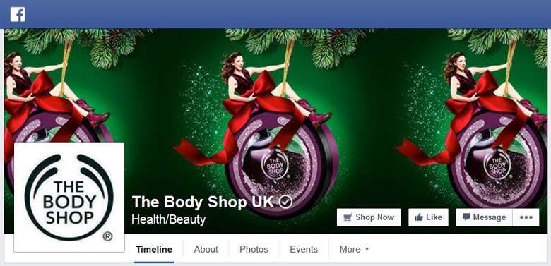 The Body Shop on Facebook
