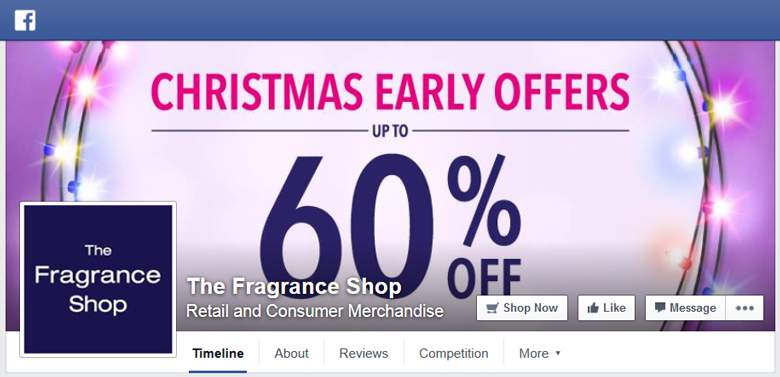 The Fragrance Shop on Facebook
