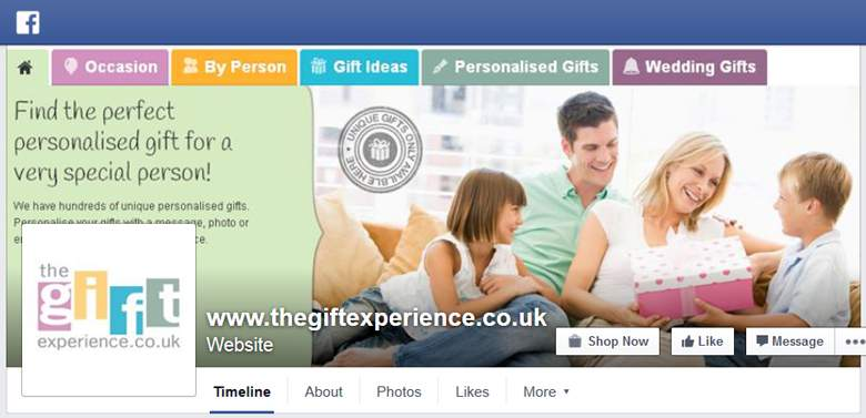 The Gift Experience on Facebook