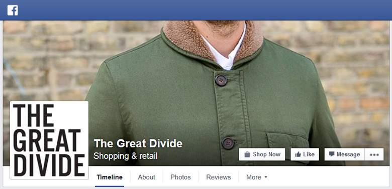 The Great Divide on Facebook