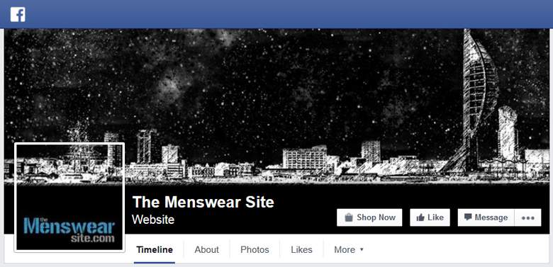 The Menswear Site on Facebook