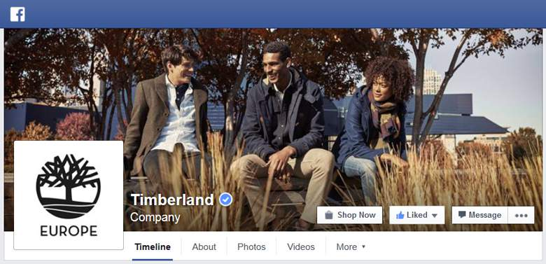 Timberland on Facebook
